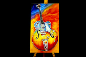 Music Art Electric Guitar